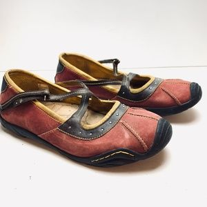 J-41 ADVENTURE ON Sara Sports Leather Shoes sz 9